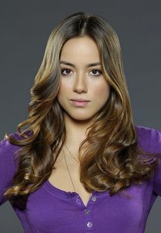 Chloe Bennett  Really like her hair. She plays Skye on agents of S.h.iel.d