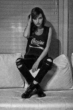 Katarzyna Napiórkowska    from : http://www.dissolvedgirl.pl/2013/02/this-cocaine-makes-me-feel-like-im-on.html