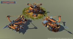 Siege Weapons Pack Low Poly - Asset Store