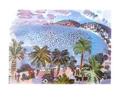 Mediterranean Scene by Raoul Dufy