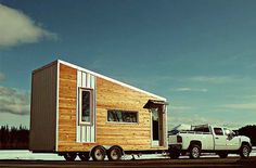 tiny house town mid century modern tiny home 170 sq ft, world of architecture portable home small house living, 200 sq ft modern tiny house on wheels for sale, gallery a modern prefab cottage small modern, Tiny House Luxury, Modern Tiny House, Tiny House Design, Modern Houses, Tiny House Family, Tiny House Living, Small Living, Living Spaces, Living Area