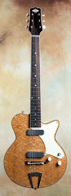 "YANUZIELLO ""Birdseye"" Solid-Body  Electric Guitar (unsure of year)..."