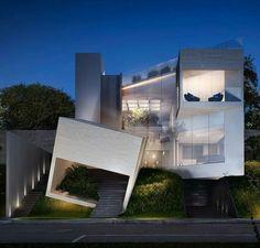 Casa CC by Lassala + Orozco Arquitetos - Fachada