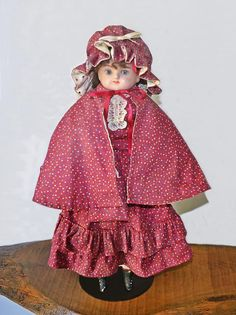 Antique Wax, Antique Dolls, Head & Shoulders, Gold Glass, Long Curly, Vintage Toys, Pink Roses, Gifts For Mom, My Etsy Shop