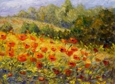 Monet, Poppy Field (Giverny)