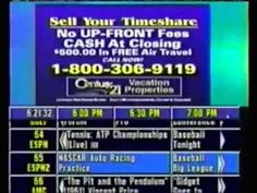 Turning on the TV Guide Channel right after the channel's listing you wanted to see had already scrolled.   19 Frustrating Things Today's Kids Will Never Experience