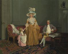 The Saithwaite Family, ca. 1785 Francis Wheatley (English, 1747–1801)