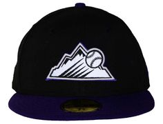 Colorado Rockies Team Reflective 59Fifty Fitted Cap by NEW ERA x MLB
