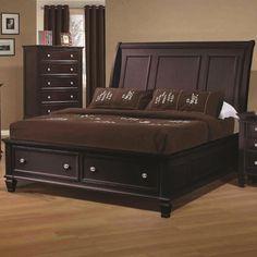 Nicholson 5-piece Cappuccino Bedroom Set - Overstock Shopping - Big Discounts on Bedroom Sets