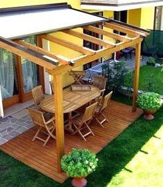 Witte Pergola Tuin - Backyard Pergola Attached To House - Wooden Pergola Patio - Pergola Lighting Led -