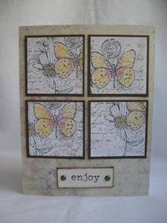 Garden Collage - Stampin' Up