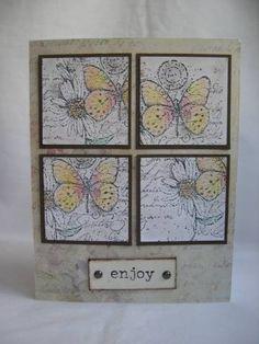 Garden Collage - Stampin' Up