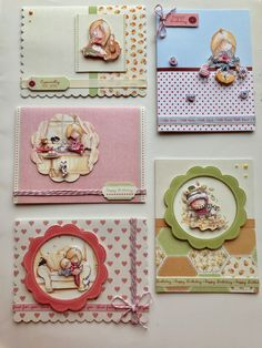 Sentiments Tilly Daydream Cardstock Die-Cuts