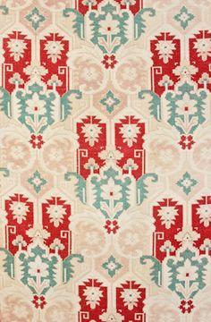 Antique French Textile c.1880