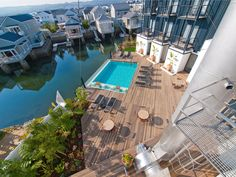 The Turbine 5 star Hotel and Spa is situated in Knysna on Thesen Island in South Africa.