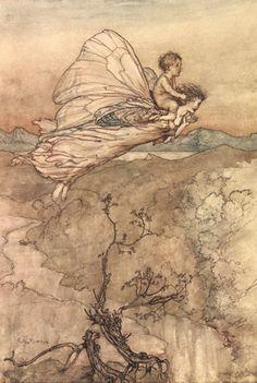 arthur rackham mermaid - Google Search