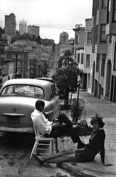 updownsmilefrown:  Summer in San Francisco, 1960s