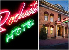 The Rochester Hotel, get a little historic perspective during your stay in Durango, Colorado