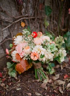 #Bouquet | See the wedding on #SMP Weddings:  http://www.stylemepretty.com/2013/03/25/hudson-valley-wedding-from-bryce-covey-photography