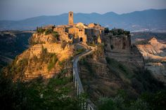May 2013 Issue - The Italian town of Civita di Bagnoregio