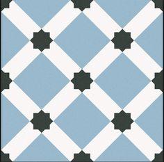 Hallway Fllow: Hevin - Porcelain & Ceramic - Shop by tile type - Wall & Floor Tiles Floor Patterns, Tile Patterns, Barcelona, Bathroom Flooring, Kitchen Flooring, Belle Epoque, Hall Tiles, Ceramic Shop, Scrappy Quilts