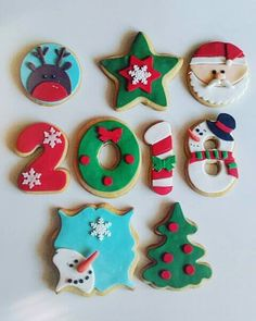 Cute Christmas Cookies, Xmas Cookies, Christmas Deserts, Christmas Cupcakes, Christmas Mood, Christmas Baking, Christmas Treats, Fondant Letters, Polymer Clay Christmas