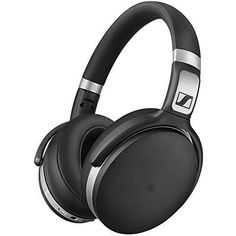 8e8fcf66ff6 Sennheiser HD Bluetooth Wireless Headphones with Active Noise Cancellation,  Black and Silver(HD BTNC)