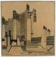 Risultati immagini per frank lloyd wright disegni