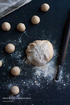Sweet Butter Flatbread Rolls - Cook Republic