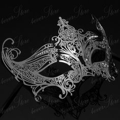 Holiday Gift  Silver Extravagant Venetian Laser Cut by 4everstore
