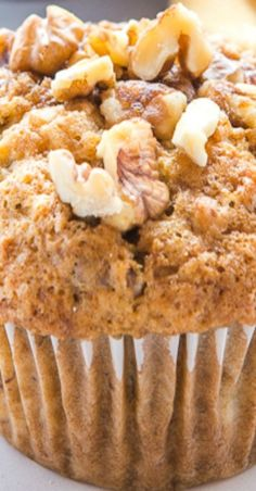 Best Ever Banana Nut Muffins - Dessert recipes - Banana Recipes Best Nutrition Food, Fig Cake, Simple Muffin Recipe, Chips, Chocolate Chip Muffins, Banana Walnut Muffins Healthy, Banana Whole Wheat Muffins, Banana Nut Bread Easy, Banana Walnut Bread