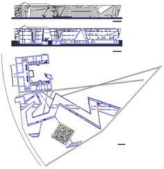 Daniel Libeskind - Jewish Museum dwg 2D