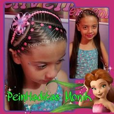 Resultado de imagen para peinados monik Medium Hair Cuts, Medium Hair Styles, Long Hair Styles, Little Girl Hairstyles, Pretty Hairstyles, Hairstyles Haircuts, Braided Hairstyles, Cool Hair Designs, Gymnastics Hair