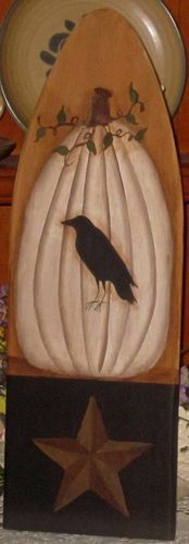 pumpkin and crow