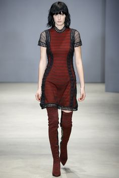 Ohne Titel Fall 2016 Ready-to-Wear Fashion Show  http://www.theclosetfeminist.ca/  http://www.vogue.com/fashion-shows/fall-2016-ready-to-wear/ohne-titel/slideshow/collection#16