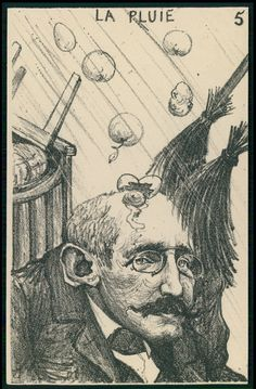 Dreyfus Stoned Political Caricature 1905 Postcard