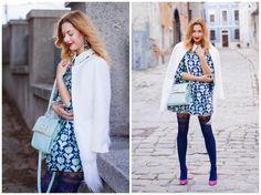 IMG_5644z-horz Kimono Top, Blue, Color, Tops, Women, Fashion, Moda, Fashion Styles, Colour