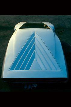 1970 Lancia Stratos Zero (designed by Marcello Gandini, Bertone) Classic Trucks, Classic Cars, Supercars, Ex Machina, Lamborghini, Ferrari, Unique Cars, Future Car, Automotive Design