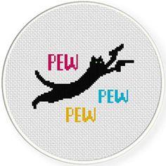 Pew Pew Cat