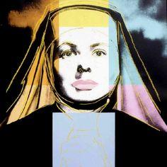 Warhol - Ingrid Bergman