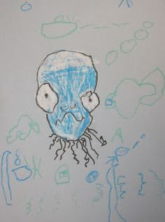 shine brite zamorano: kindergarten art lesson The Best Artists in the Ocean