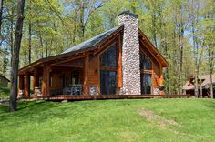 Browse the featured properties for sale in the Northwestern Wisconsin real estate market Log Furniture, Stone Veneer, Small House Design, Types Of Houses, Real Estate Marketing, My Dream Home, Wisconsin, Property For Sale, Exterior