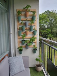Small Balcony Garden, Small Balcony Decor, Chicago Apartment, Small Hall, Student House, Plant Wall, Room Inspiration, Home Furnishings, Outdoor Living