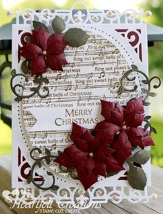 Heartfelt Creations | Merry Christmas Notes