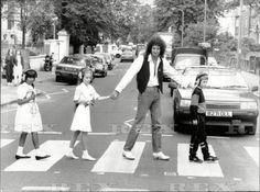 Brian May on Abbey Road