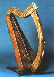 The oldest Celtic harps (Trinity College and Queen Mary harps)