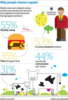 Guardian | Organic Food Infographic