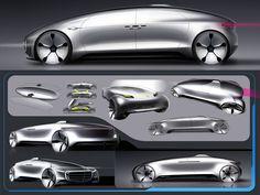 Mercedes-Benz F015 Luxury in Motion Design Gallery