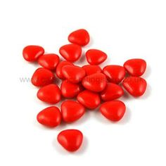 Red Chocolate Heart Shaped Dragees