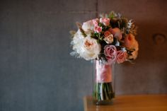 Bridesmaid flowers -Flowers by Semia